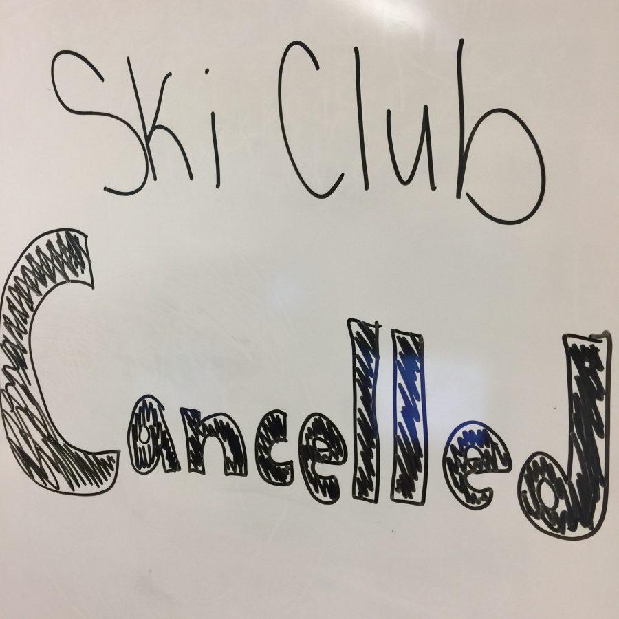 Ski Club says No snow, No go