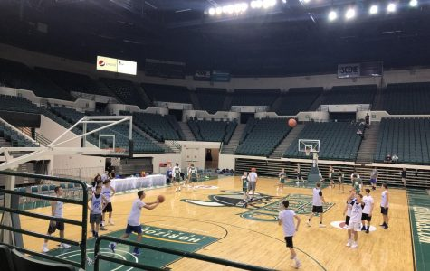 Basketball Prepares During the Summer