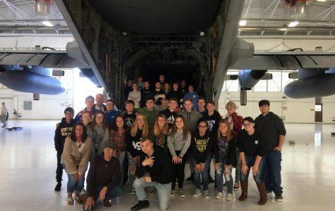 Lakeview Juniors and Seniors Visit Air Base