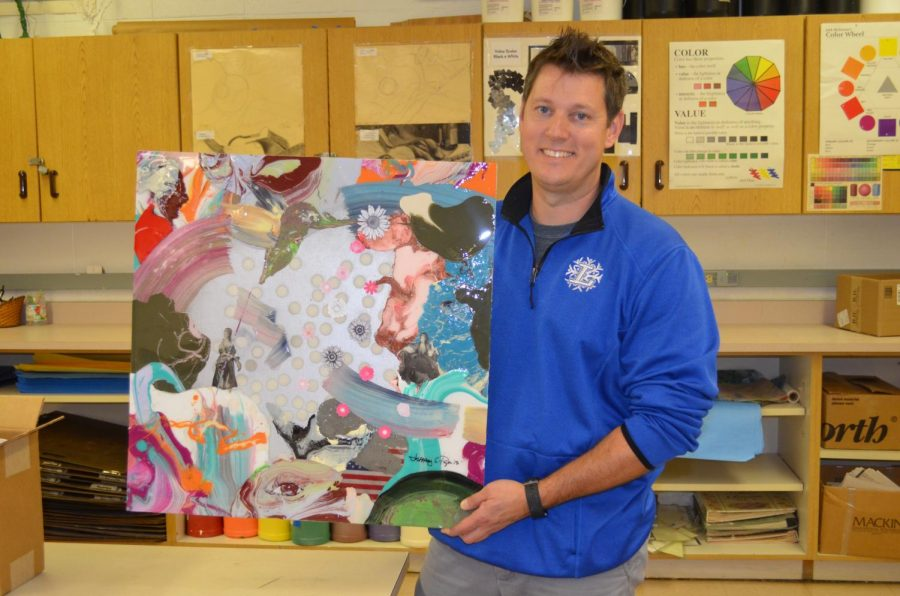 LHS Art Teacher Preparing to be Nationally Recognized