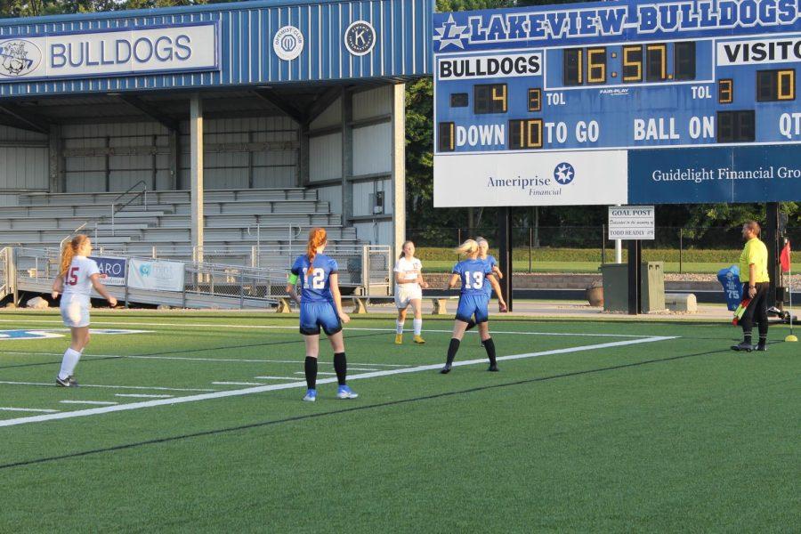Lady Bulldogs Soccer Celebrate Senior Night