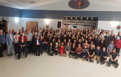 NHS Celebrates Winter Formal for Area Senior Citizens