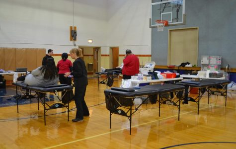 Bulldogs Take on Second Round of Blood Drive