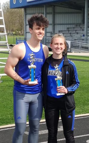 Lakeview Senior Athletes Run Winter Track