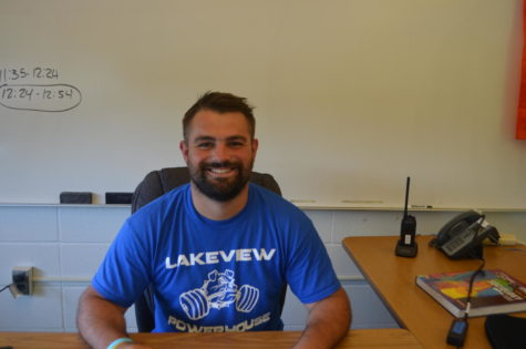 New Year, New Teachers: Carson Brings Class to Lakeview